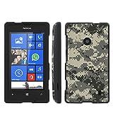 Mobiflare Nokia [Lumia 521] Windows Phone Green Camo Slim Guard Protect Artistry Design Case