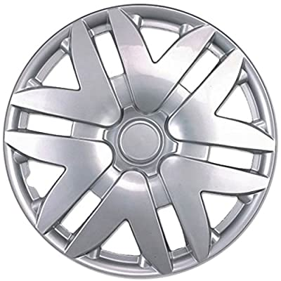 "BDK Toyota Sienna Hubcaps Wheel Cover, 16"" Silver Replica Cover, (4 Pieces)"