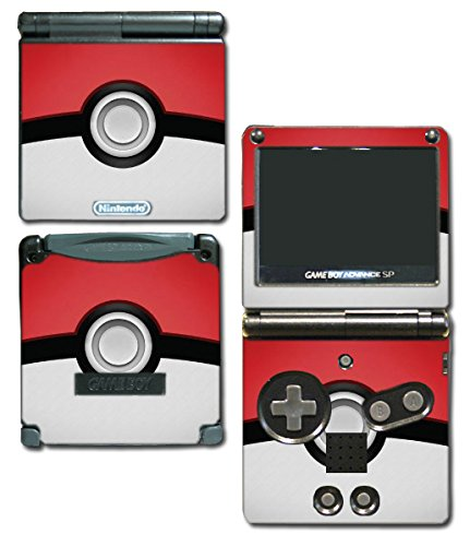 Pokemon Pokeball Pikachu Special Edition Video Game Vinyl Decal Skin Sticker Cover for Nintendo GBA SP Gameboy Advance System (Pokemon Gameboy Advance Video compare prices)
