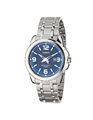 Casio Measures-Seconds Analog Blue Dial Men's Watch MTP-1314D-2AVDF