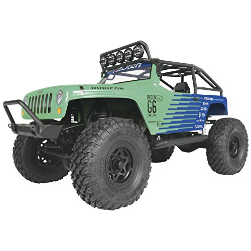 Axial Ax90036 Scx10 Jeep Wrangler G6 Falken 4Wd Rtr Rc Vehicle