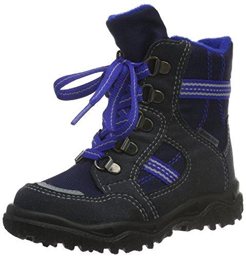 SuperfitHUSKY1 - Stivali a metà gamba con imbottitura pesante  Bambino , Blu (Blau (Ocean 80)), 24