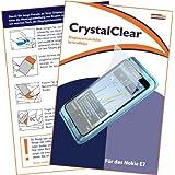 """mumbi Displayschutzfolie Nokia E7-00 E7 Displayschutz """"CrystalClear"""" unsichtbar"""