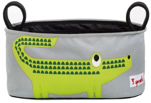3 Sprouts Stroller Organizer, Crocodile