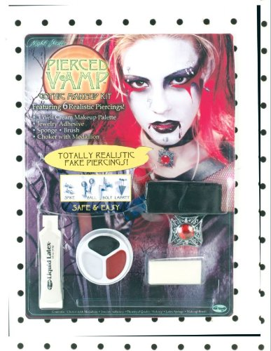 Pierced Goth Vamp - Character Kit