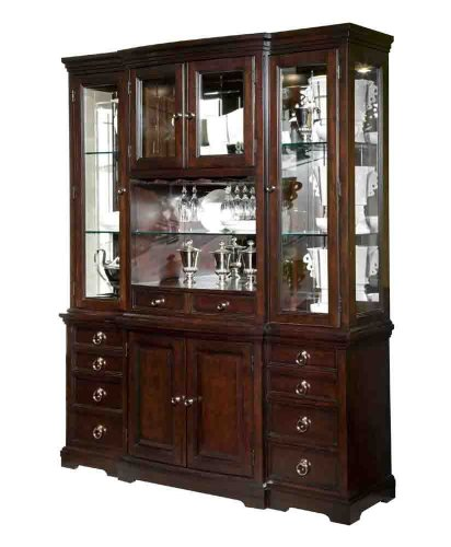 China Cabinet by Broyhill - Rich Merlot Finish (4467-565R)