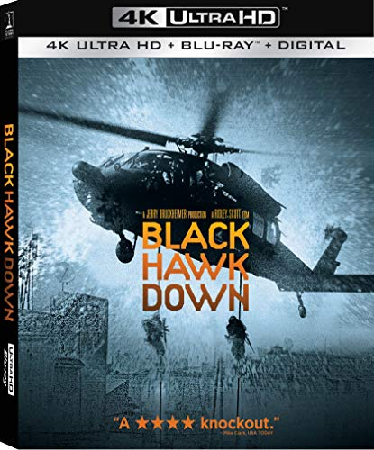 4K Blu-ray : Black Hawk Down (Widescreen, Dubbed, Subtitled, 3 Pack)