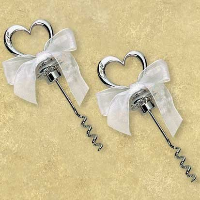 Heart Corkscrew Favor - 1