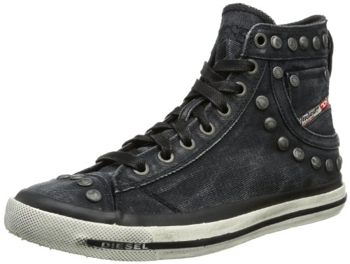Diesel MAGNETE EXPOSURE IV W High Womens Black Schwarz (black denim T8013) Size: 6 (39 EU)
