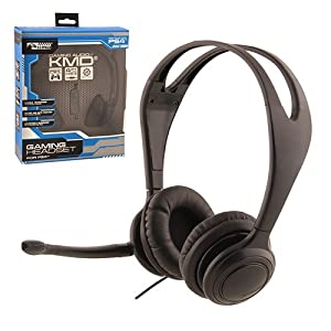 PS4 - Headset - Live Chat Headset - by (KMD)