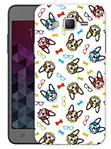 """Humor Gang Retro Dogs Love Printed Designer Mobile Back Cover For """"Samsung Galaxy On5"""" (3D, Matte, Premium Quality Snap On Case)"""