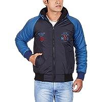 Fort Collins Men's Nylon Jacket (14262_Large_Navy)