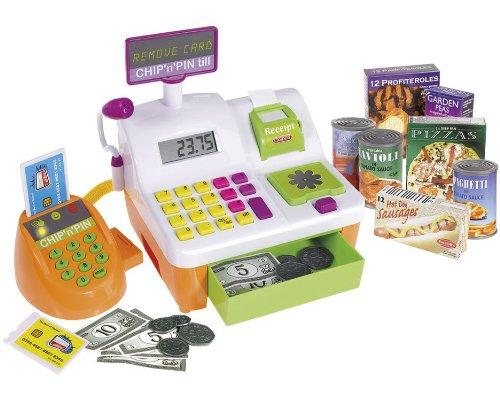 Casdon Chip 'n' Pin - Caja registradora de juguete
