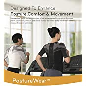 BackJoy PostureWear Pro Sports Comfort Fit Shirt, RUNNING, YOGA, GYM, TRAINING, Compression Shirt, Muscle Shirt...
