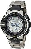 CASIO Herren-Armbanduhr Digital Quarz Edelstahl PRG-270D-7ER