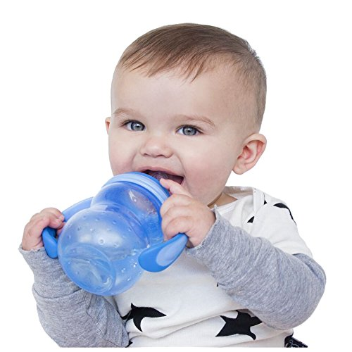 Nuby 3 Stage Bottle, 7 Ounce, Colors May Vary - 1