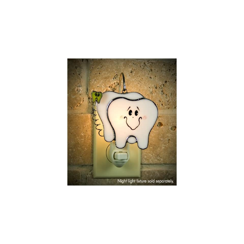 Switchables Stained Glass Teeth Night Light Cover: Home Improvement