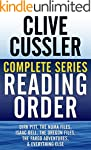 CLIVE CUSSLER COMPLETE SERIES READING...