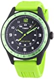 Timex Classic Men's Quartz Watch with Black Dial Analogue Display and Black Resin Strap T2P025PF