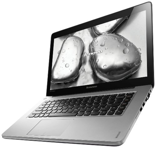 Lenovo IDEAPAD U410touch 35,6 cm (14 Zoll Touch) Ultrabook (Intel Core i7 3537U, 2GHz, 8GB RAM, 1TB HDD, nVidia Geforce 710M/2GB, Win 8) graphite grau