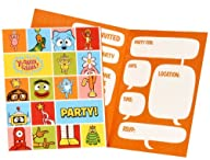 Yo Gabba Gabba! Party – Invitations (8)