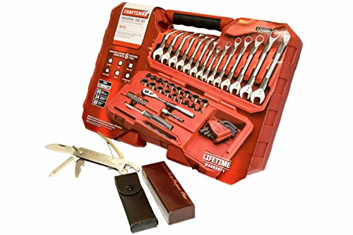 Craftsman   Best Mechanics Tool Set PLUS For Home & Auto   56 Pc Universal Socket & Wrench Kit   Guaranteed   Hex Keys   Extensions   Top Rated - #1 Seller   Includes FREE GIVEAWAY - Multi Tool Pliers
