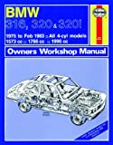 Haynes Manual for BMW 316, 320 and 320i (4-cyl) (75 - Feb 83) up to Y including an AA Microfibre Mitt