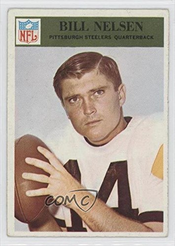 Bill Nelsen COMC REVIEWED Good to VG-EX (Football Card) 1966 Philadelphia #153