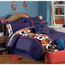 Sports Basketball Baseball Football Teen Boys Twin Comforter Set