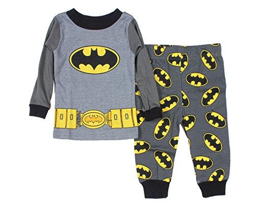 Dc Comics Batman Baby Boys' Utility Belt Long Sleeve Pajamas (18M) front-158849