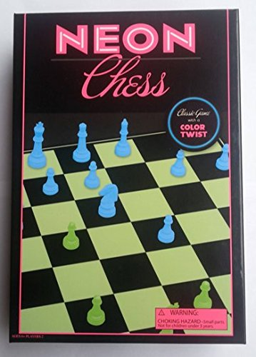 Neon Chess - Classic Game with a Twist of Color