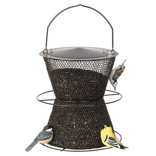 Image of No No Hourglass Bird Feeder - In Your Choice of Two Colors (B002URFC5Y)
