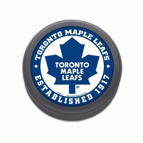 NHL-hockey-puck-Toronto-Maple-Leafs