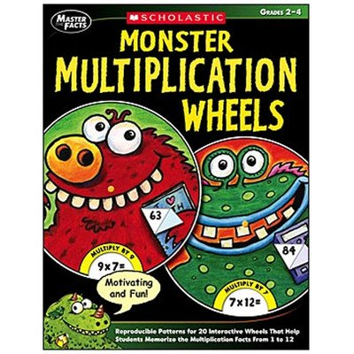 Scholastic SC-9780439609685 Master The Facts Monster - 1