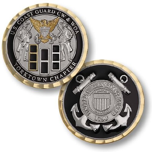 Coast Guard CW & WOA Yorktown Chapter Challenge Coin