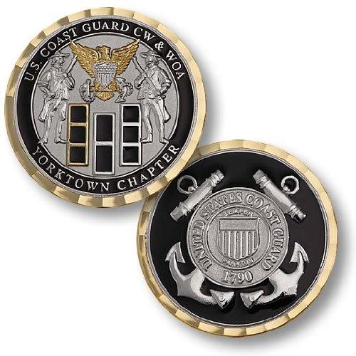 Coast Guard CW & WOA Yorktown Chapter Challenge Coin