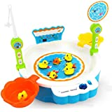 Toys Bhoomi 2 In 1 Colorful Magnetic Fishing Game Toy With The Music & Light For Kids Boys And Girls - Learn To... - B06WGTGTJM