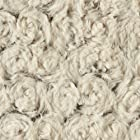 Rose Petal Faux Fur Throw Color: Beige