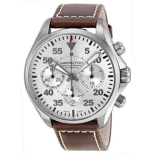 Hamilton Khaki Aviation Pilot Automatic Chronograph Mens Watch H64666555