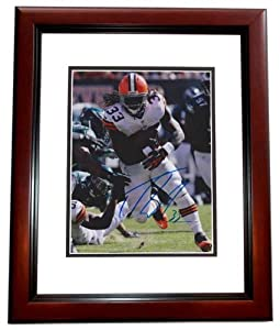Trent Richardson Autographed Hand Signed Cleveland Browns 8x10 Photo MAHOGANY CUSTOM... by Real Deal Memorabilia