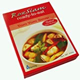 Thai Mushroom Tom Yum Soup Ready Made meal RozSiam Brand