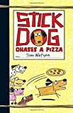 Tom Watson Stick Dog Chases a Pizza