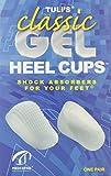 Tuli's Classic Gel Heel Cups, Regular (Under 175lbs) by Tuli's