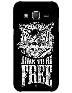 myPhoneMate Born To Be Free Tiger case for Samsung Galaxy J2 J200