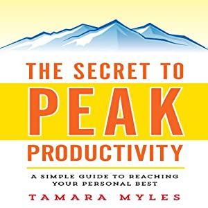 The Secret to Peak Productivity Audiobook