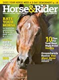 img - for Horse & Rider Magazine November 2008 (Single Back Issue) book / textbook / text book