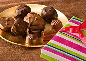 Helen Grace Chocolates, Sugar-Free Assorted Milk & Dark Chocolates, 8 oz. Gift Box