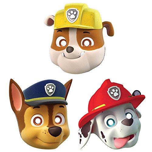 Paw Patrol Paper Masks 8ct