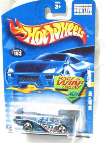#2002-153 Sol-Aire CX4 Collectible Collector Car Mattel Hot Wheels 1:64 Scale - 1
