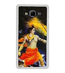 Bhagwan Ram 2D Hard Polycarbonate Designer Back Case Cover for Samsung Galaxy A8 (2015 Old Model) :: Samsung Galaxy A8 Duos :: Samsung Galaxy A8 A800F A800Y